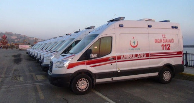 112 Acil Sağlık Ekibi size yardımcı olmak için ordadır. 112 ekibine yönelik fiziksel ve/veya sözel şiddet ve tehdit edici davranışlarda bulunmayın.