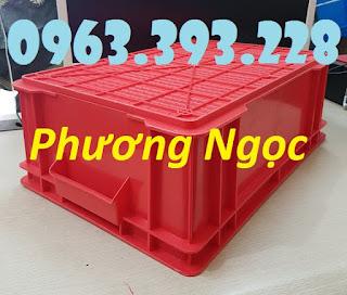 Thùng nhựa có nắp, thùng nhựa B4, hộp nhựa công nghiệp Db1246763993decd8782