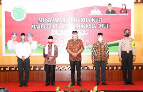 Gubernur Buka Musda ke - 7 MUI Sulut