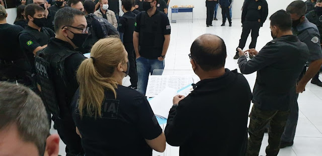 Operação de combate ao tráfico e associação para o tráfico de drogas cumpre mandados de prisão em Pacaembu