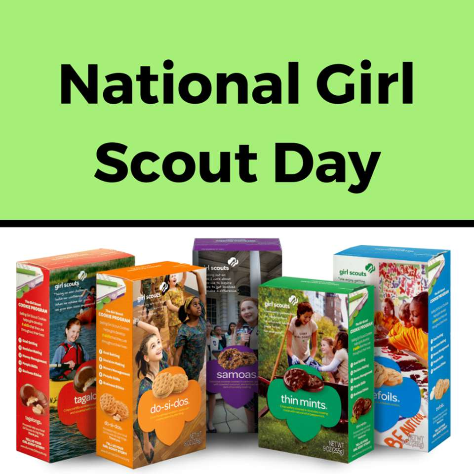 National Girl Scout Day Wishes Awesome Picture