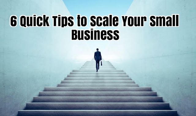 6 Quick Tips to Scale Your Small Business
