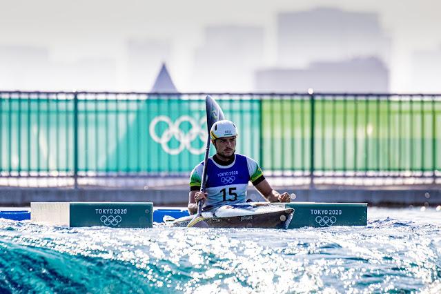 Pedro Gonçalves canoagem slalom