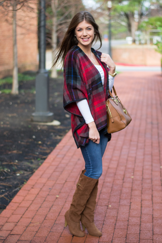 Mad for plaid ponchos