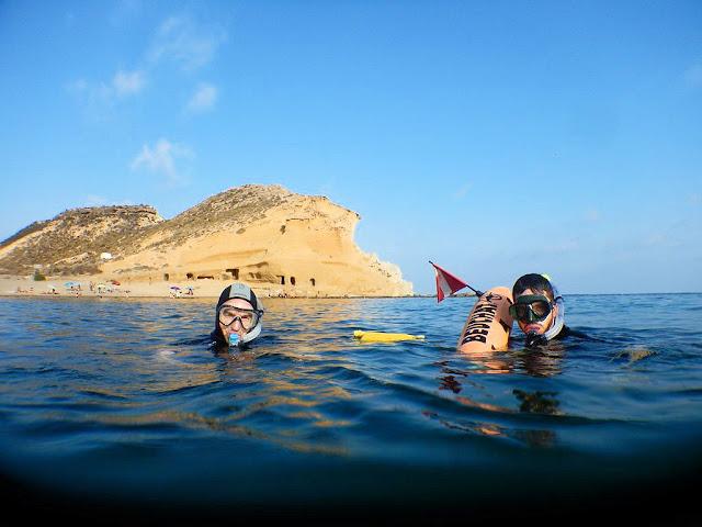 Snorkel en la costa de Almería