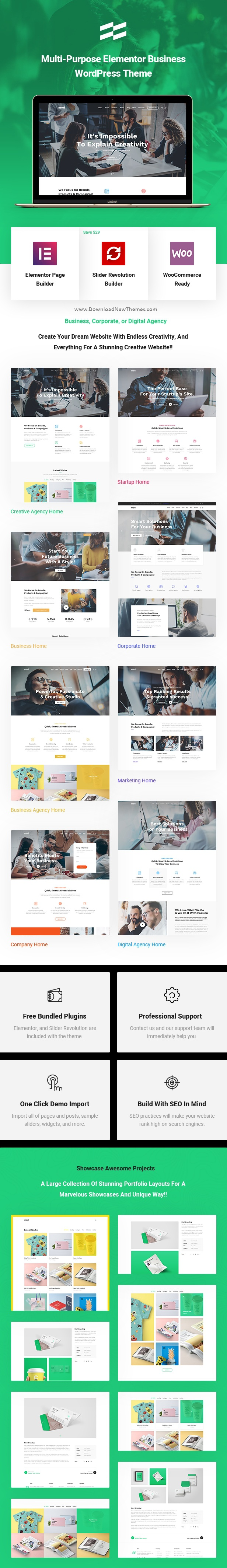 Business Corporate WordPress Theme