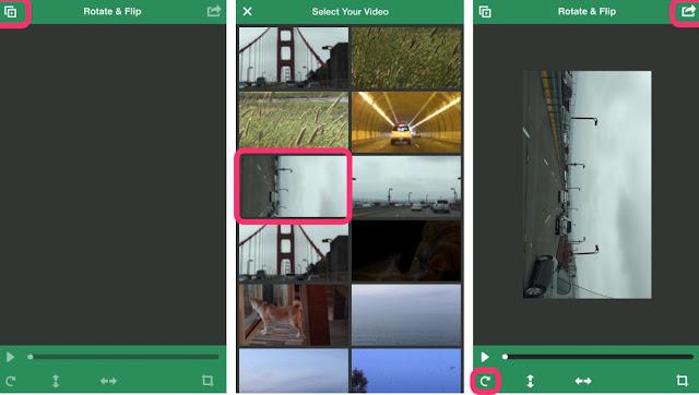 Begini Cara Memutar Video Sideways di iPhone dan iPad 2
