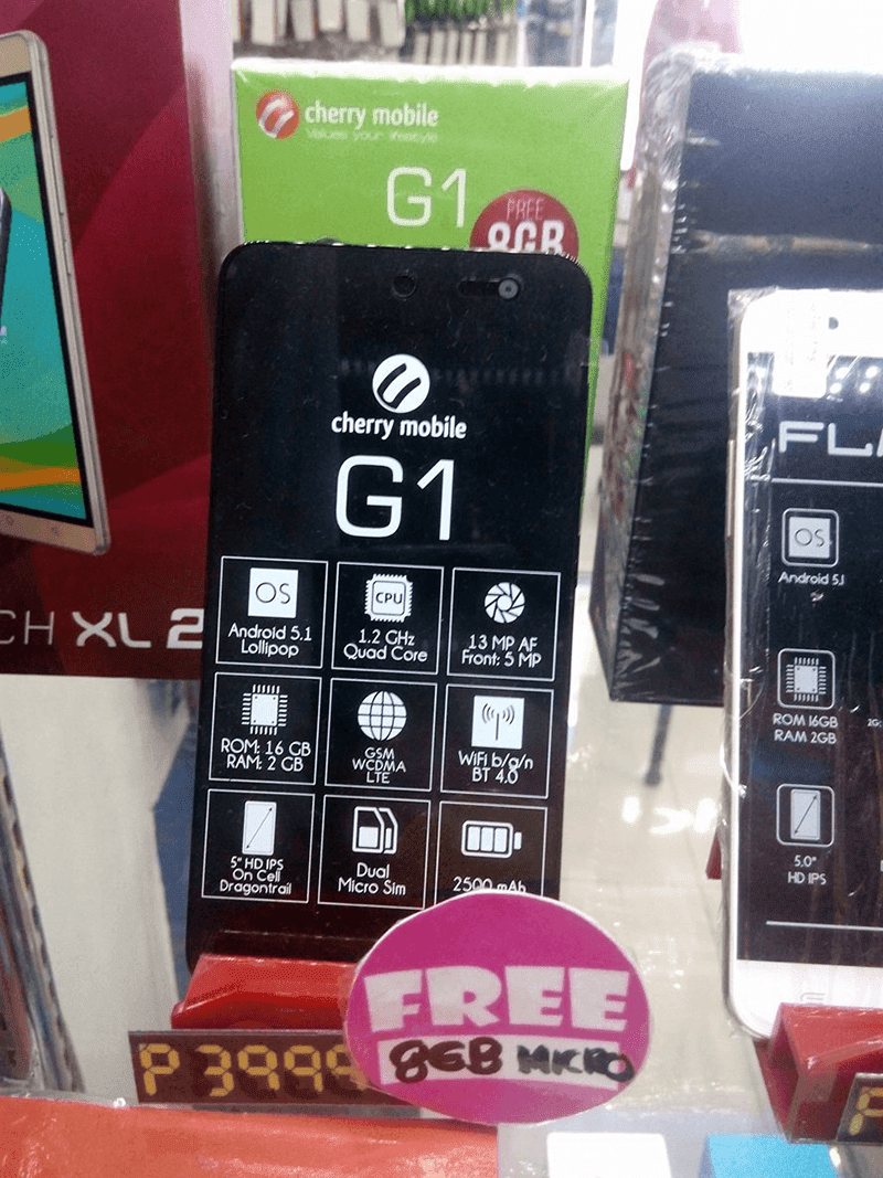 Cherry Mobile One G1