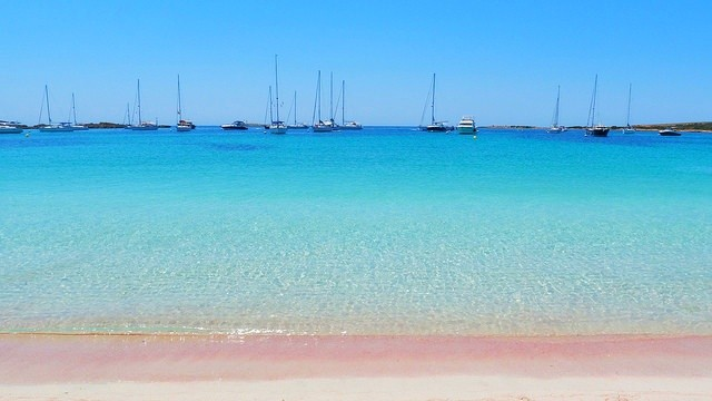Playa s'alga, Formentera, Balearic Islands
