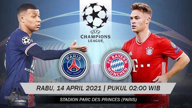 Prediksi Paris Saint Germain Vs Bayern Munchen