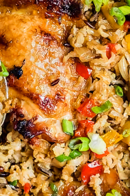 One pot Chinese Chicken and Rice Recipe