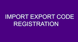 New 2021 update for  electronic import export code (IEC)