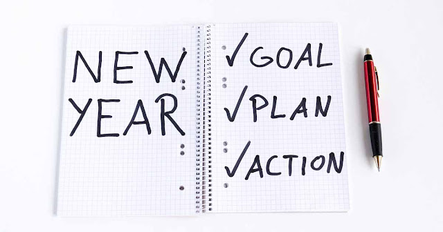 New Years Resolutions - how to plan in order to keep them!
