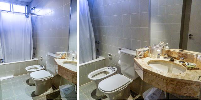 Apartamento do Hotel San Martin Resort & Spa, em Foz do Iguaçu
