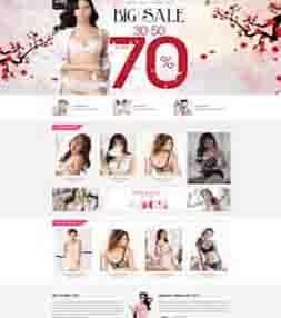 Template blogspot shop thời trang phụ kiện đẹp