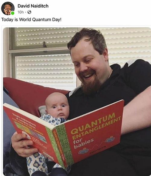 """Maybe """"for babies"""" is easier than """"student friendly"""" books (Source: D. Naiditch's Facebook)"""