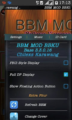 Download BBM BBKU TRANSPARENT UNCLONE v3.3.0.16 APK Terbaru 2017 Gratis
