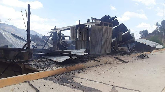 Tras ataque armado deja tres ejecutados y varios heridos en Tierra Blancas en Guerrero