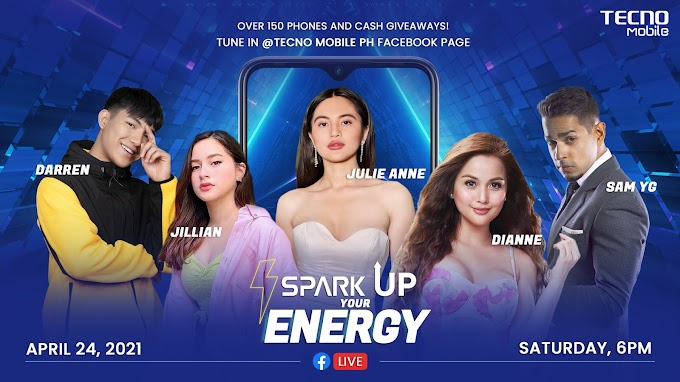 150 Amazing Prizes up for grabs during TECNO Mobile's Spark Up Your Energy Livestream! | PR 2021