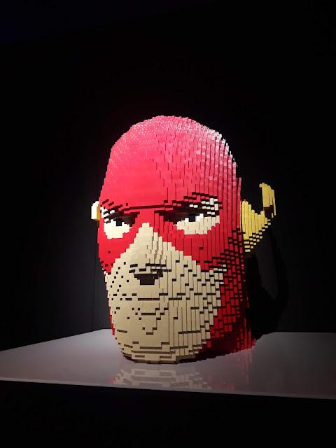 blog-inspirando-garotas- exposição-lego-the-art-of-the -brick-dc-super-heroes