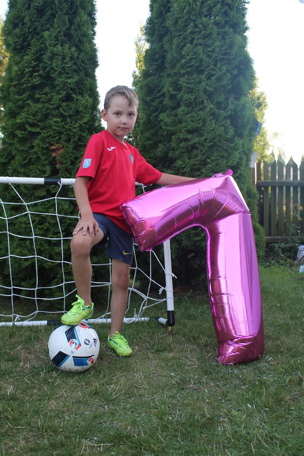 sesja piłkarska dla dziecka
