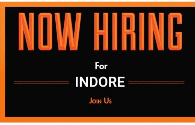 job in Indore urgent recruitment new staff new branch