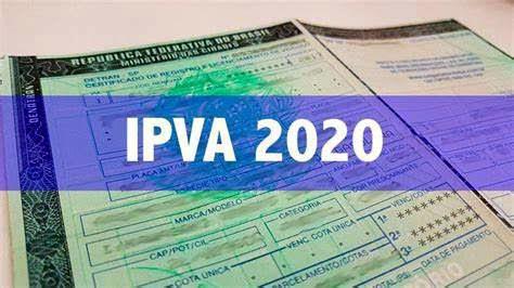 PAGAMENTO DO IPVA 2021 A PARTIR DO DIA 7 DE JANEIRO