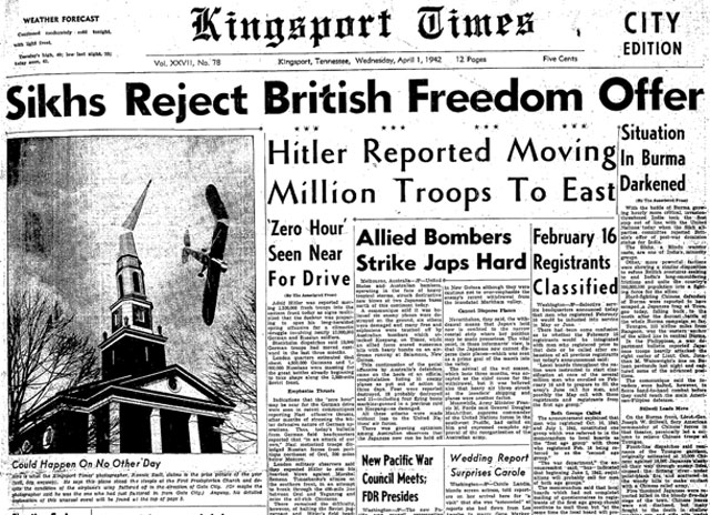 Kingsport Times (Tennessee) 1 April 1942 worldwartwo.filminspector.cmo