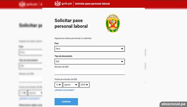 Pase vehicular y laboral: consulta aquí para circular en cuarentena los domingos en www.gob.pe/paselaboral