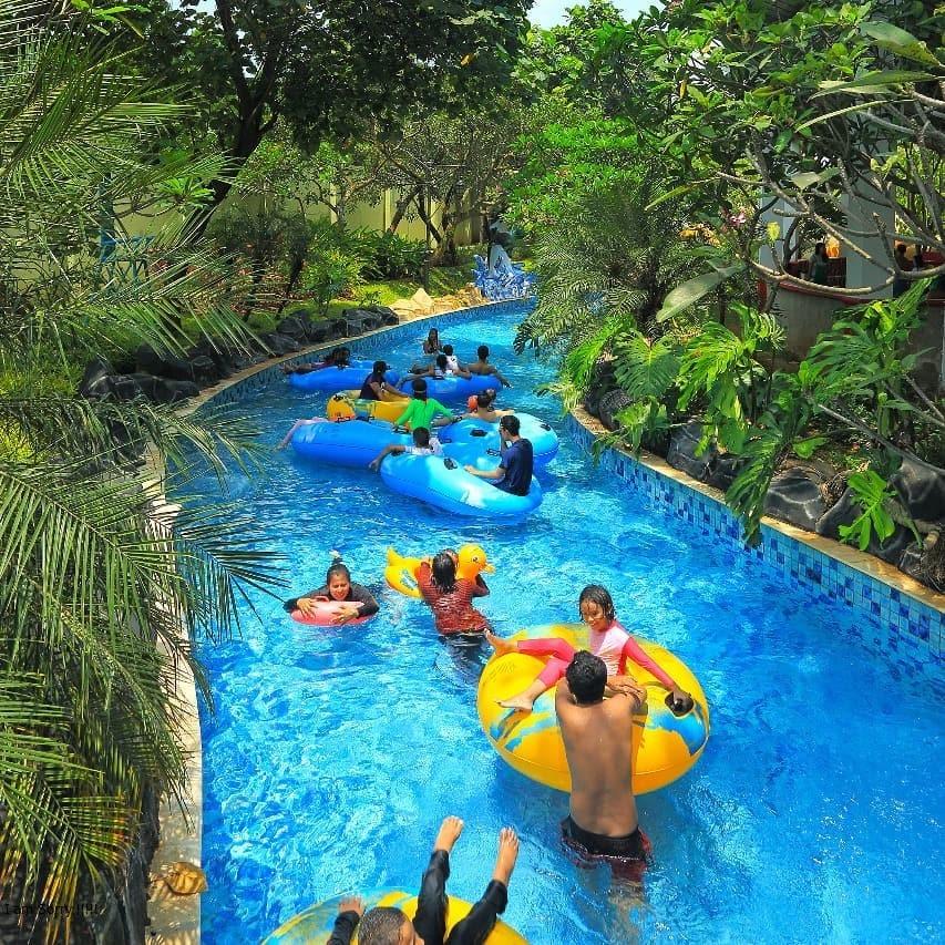 Lokasi Ocean Park BSD City