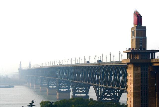 Jembatan Sungai Yangtze Nanjing