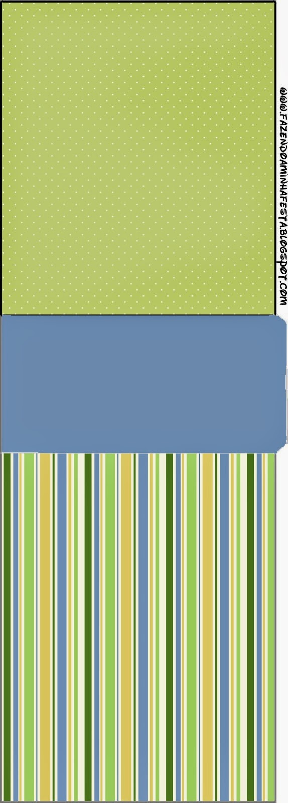 Green, Blue and Orange, Free Printable Tic Tac Labels.