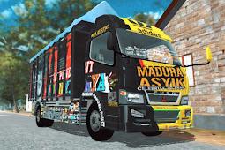 Livery Madura Asyik ES Truck Simulator ID v1.1.4