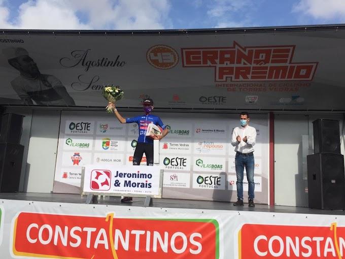 Pablo Guerrero consiguió el maillot de la montaña en la 1ª etapa en Torres Vedras