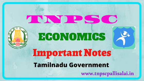 Economics Full study notes for all tnpsc exams