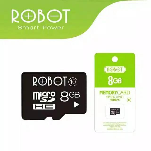 MicroSD Robot 8GB