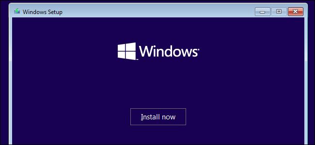 تثبيت ويندوز 10 على نظام ويندوز 7.