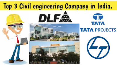 Top 3 Civil engineering company in India