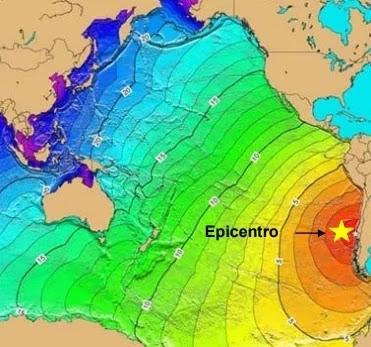 Tele-Tsunami generado por el Terremoto de Valdivia de 1960