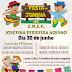 Festa Junina da escola Josefina Ferreira Aquino será domingo, 30 de junho