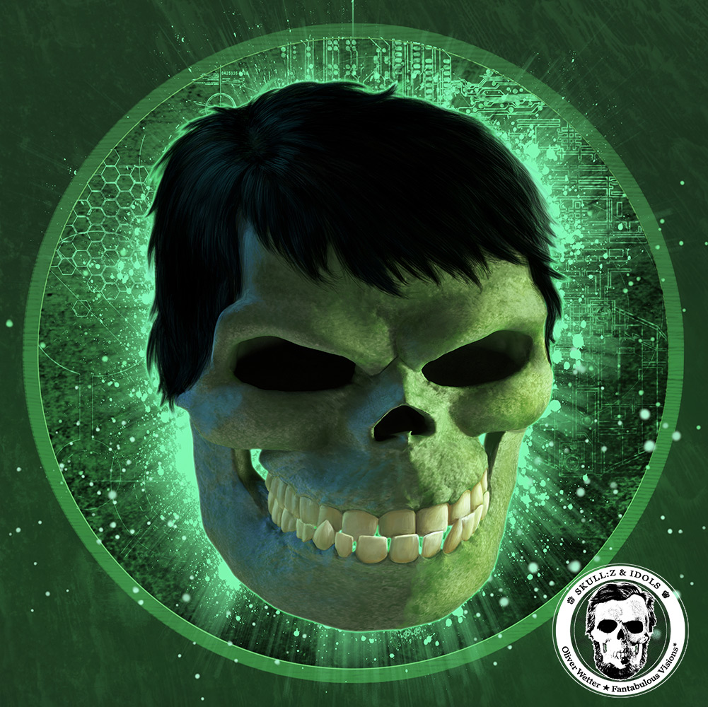Skullportrait of the Hulk