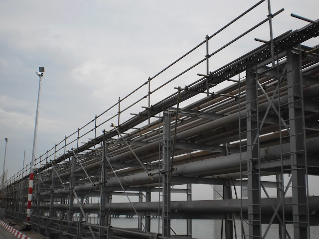 Ipalm Malaysia-North Port Edible Oil Refinery -  02 Scaffold Erection