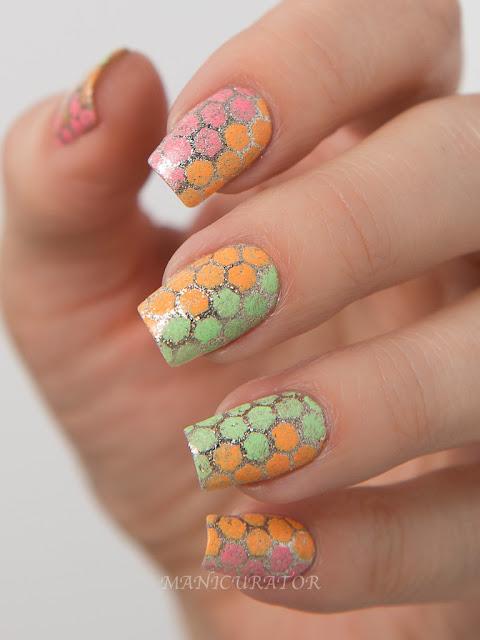 China-Glaze-Lite-Brites-KBShimmer-Honeycomb-Blanchett-Nail-Art