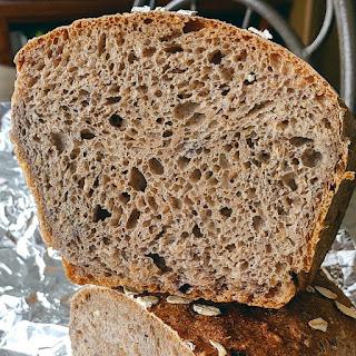 Multigrain Blueberry Bread #BreadBakers
