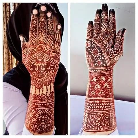arabic-full-hand-mehndi-design-for-brides