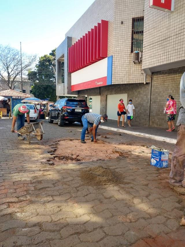 Revitalização do estacionamento da 3ª Avenida do Núcleo Bandeirante