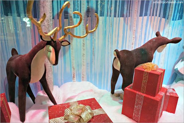 Escaparates de Navidad del Macy's de Boston