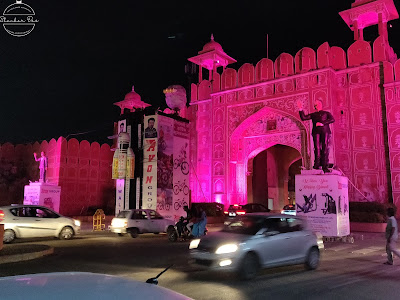 Ajmeri gate the pink city