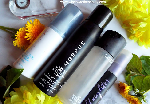 setting sprays review