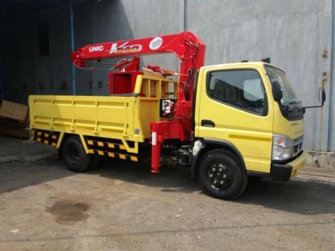 harga mobil truk crane colt diesel 2020, harga truk crane fuso canter 2020
